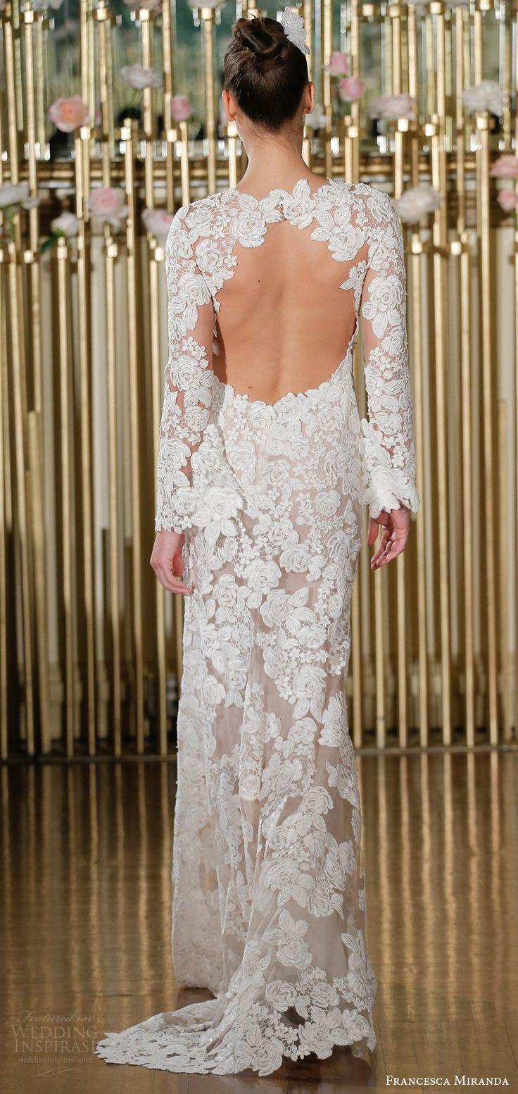 Mariage - Francesca Miranda Spring 2018 Wedding Dresses — New York Bridal Fashion Week Runway Show