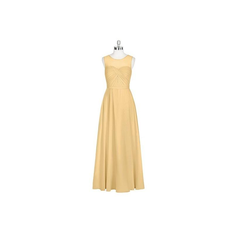 Свадьба - Gold Azazie Justine - Sweetheart Chiffon Floor Length Illusion Dress - Cheap Gorgeous Bridesmaids Store