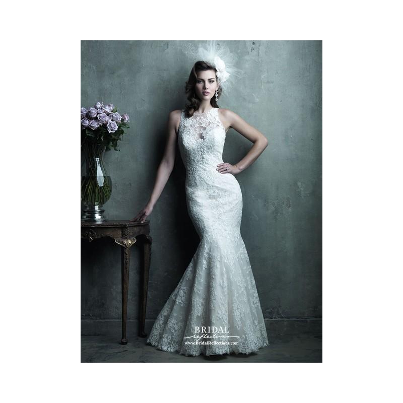 Hochzeit - Allure Couture C280 - Burgundy Evening Dresses