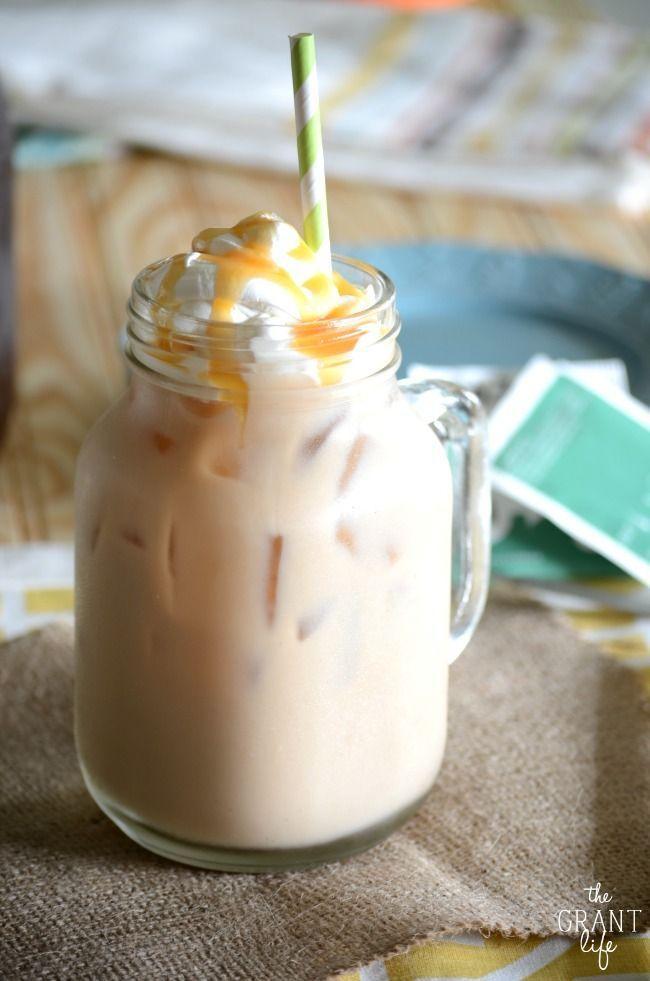 Wedding - Vanilla Iced Chai Latte
