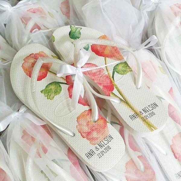 Düğün - Chinelos Para Casamento: Como Distribuí-las Na Festa?