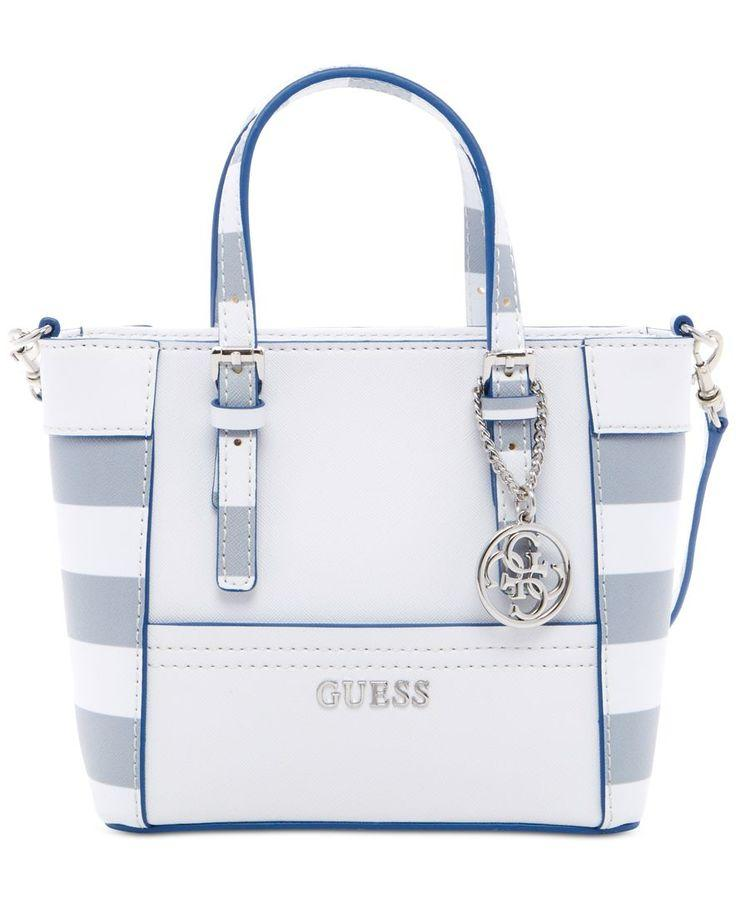 Düğün - GUESS Delaney Petite Tote With Crossbody Strap - Handbags & Accessories - Macy's