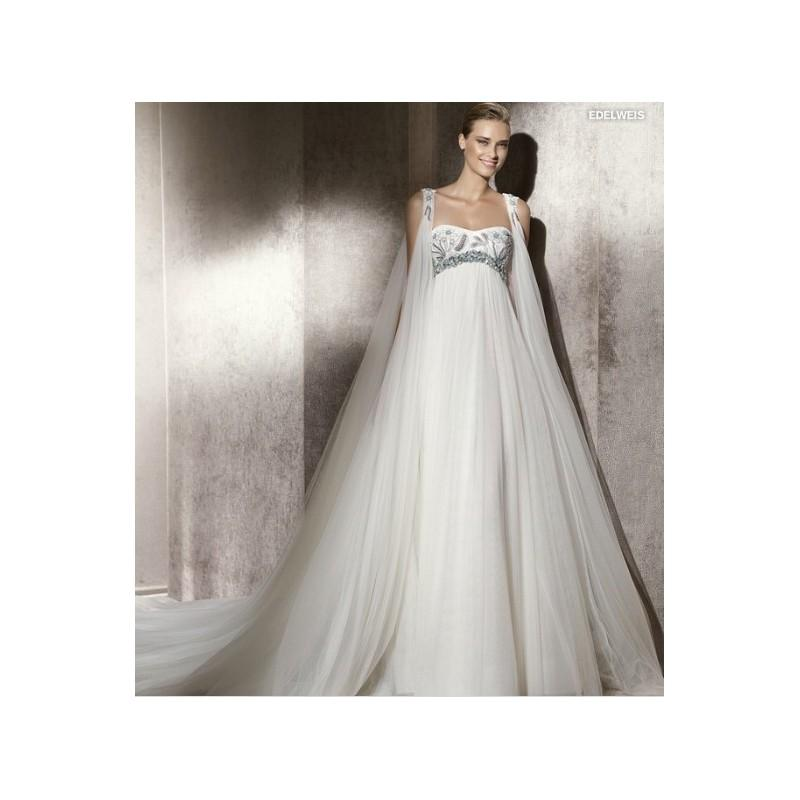 Wedding - 2017 Refined Empire Waist Wedding Gown Features A-line Chiffon Long Style In Canada Wedding Dress Prices - dressosity.com
