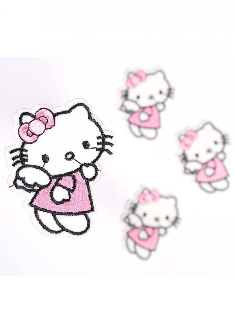Свадьба - Hello Kitty Patch Hello Kitty  Iron on patches Hello Kitty embroidered patch Hello Kitty  applique badge patch fashion patches iron