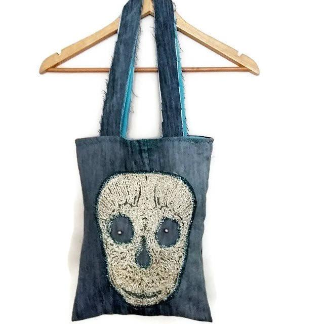 297405959a Jeans bags handmade