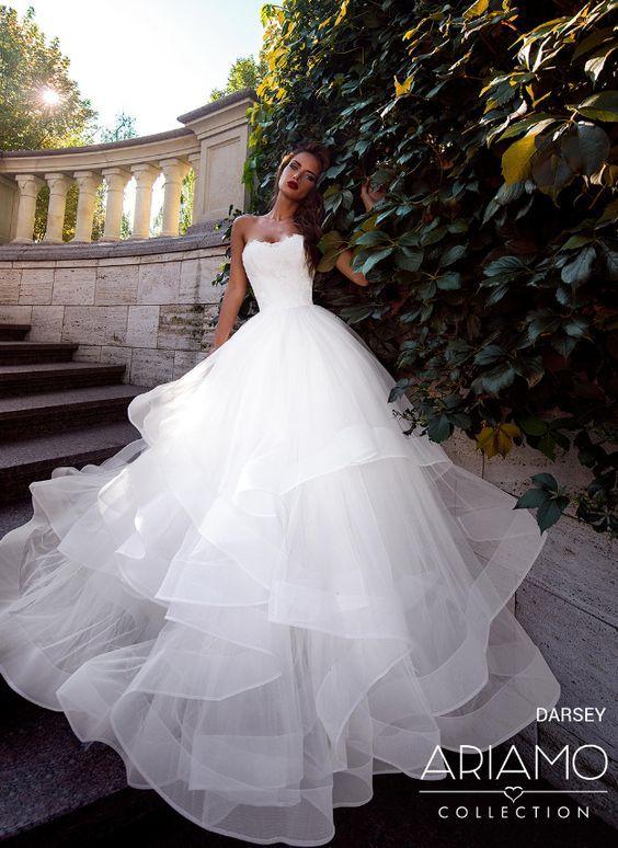 Hochzeit - Wedding Dress Inspiration - Ariamo Bridal