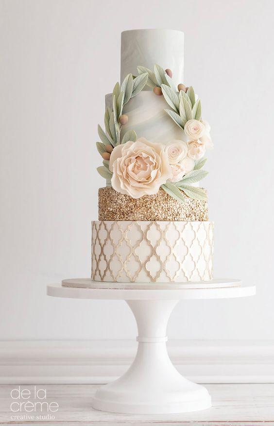 Boda - De La Crème Wedding Cake Inspiration