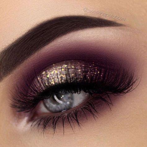 Maquillage Maroon Eyes 2733804 Weddbook