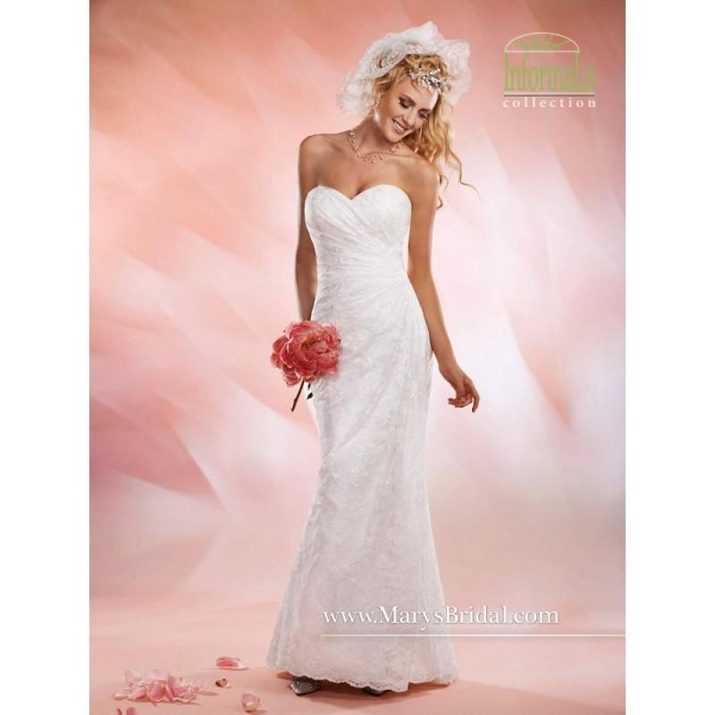 Marys Bridal S14 2530 Informal Wedding Dress Wedding Long Marys Bridal A Line Strapless Dress 2017 New Wedding Dresses 2733916 Weddbook,Casual Simple Beach Wedding Dresses