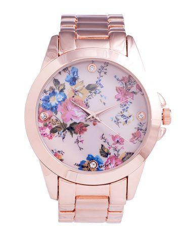 Wedding - Belle Fleur Rose Watch