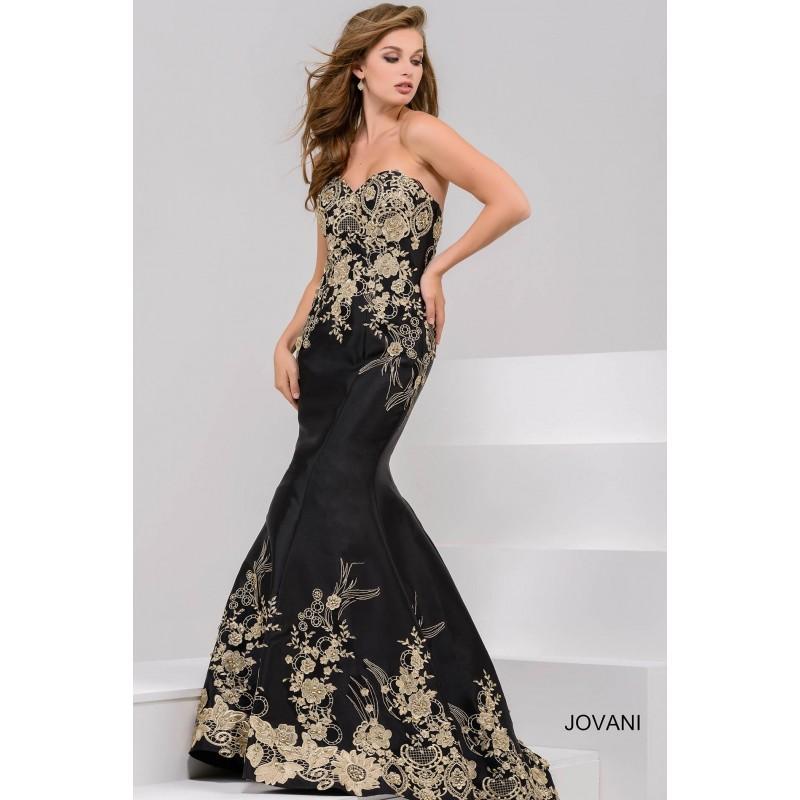 Mariage - Jovani 31220 Evening Dress - Jovani Trumpet Skirt Long Sweetheart Social and Evenings Dress - 2017 New Wedding Dresses