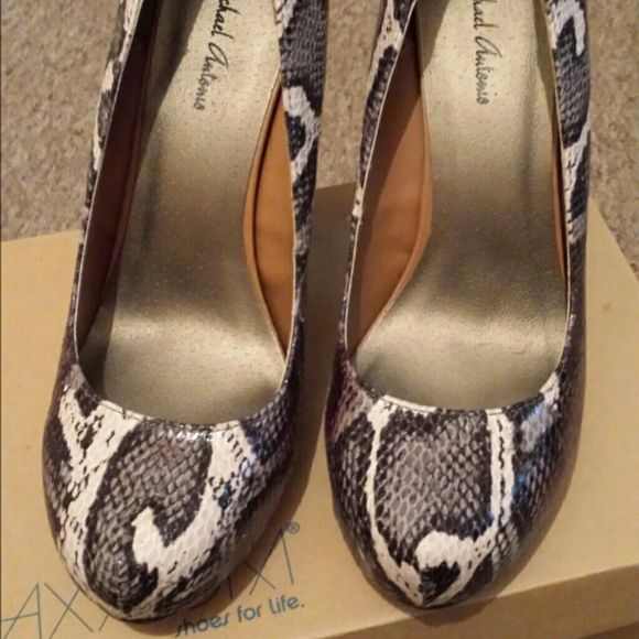 Wedding - Python Pumps