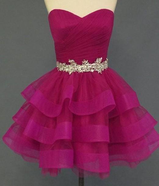 زفاف - Charming Homecoming Dress, Organza
