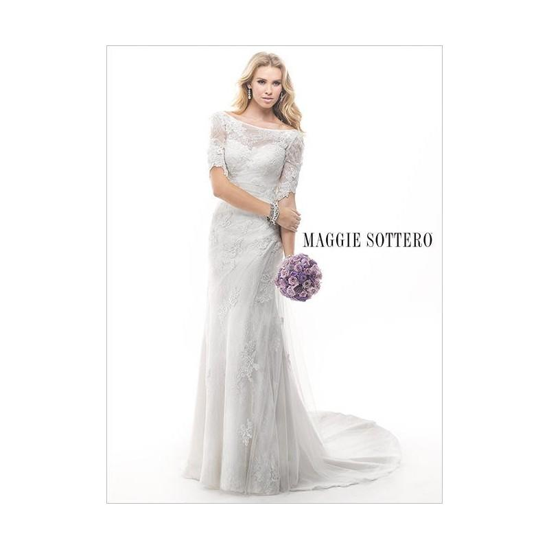 Wedding - Sottero and Midgley Maggie Bridal by Maggie Sottero Theda-4MW836 - Fantastic Bridesmaid Dresses