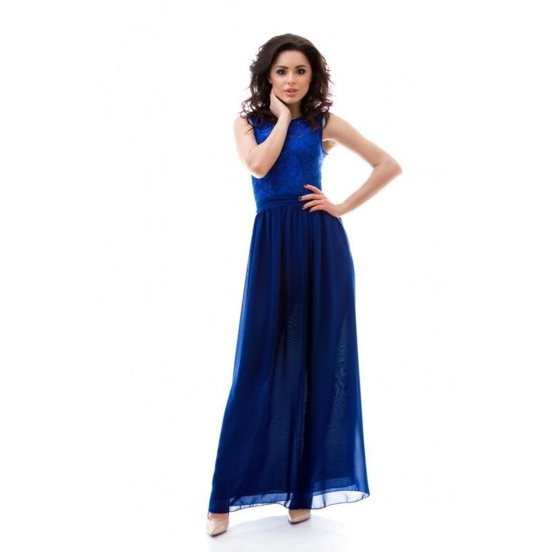 Boda - Bridesmaid Royal Blue Long Dress.Formal Occasion Royal Blue  Chiffon Dress - Hand-made Beautiful Dresses