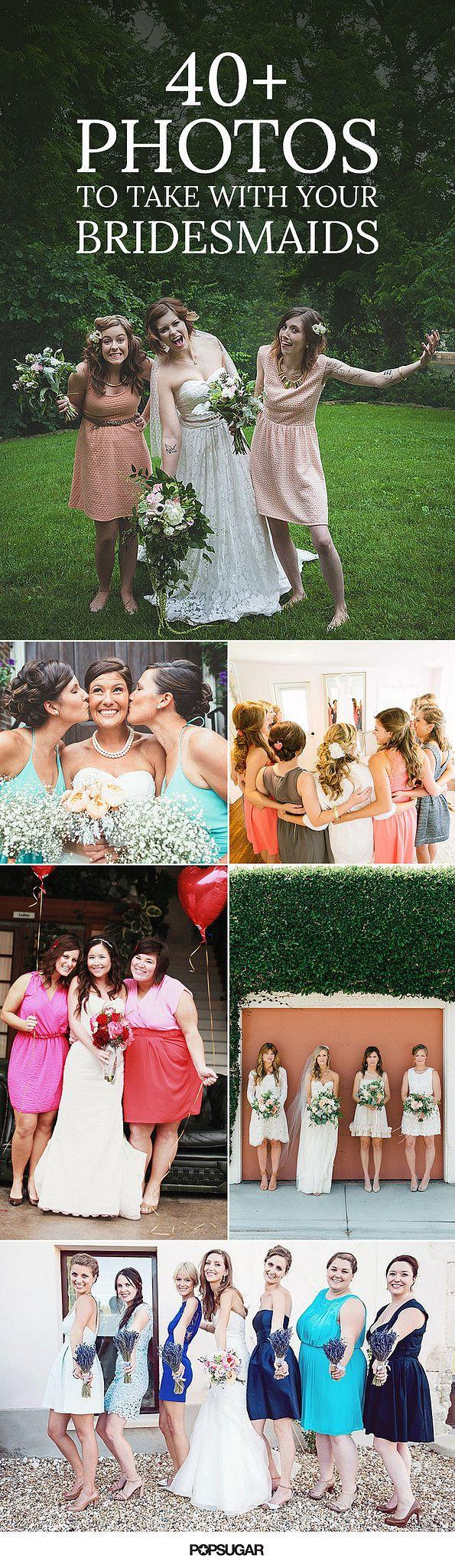 Wedding - 40  Adorable Photos You Need To Take With Your Bridesmaids