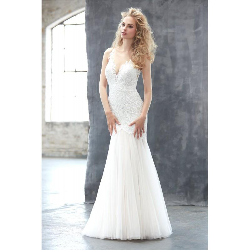 Madison James Style MJ306 By Madison James - Ivory Champagne Lace ...