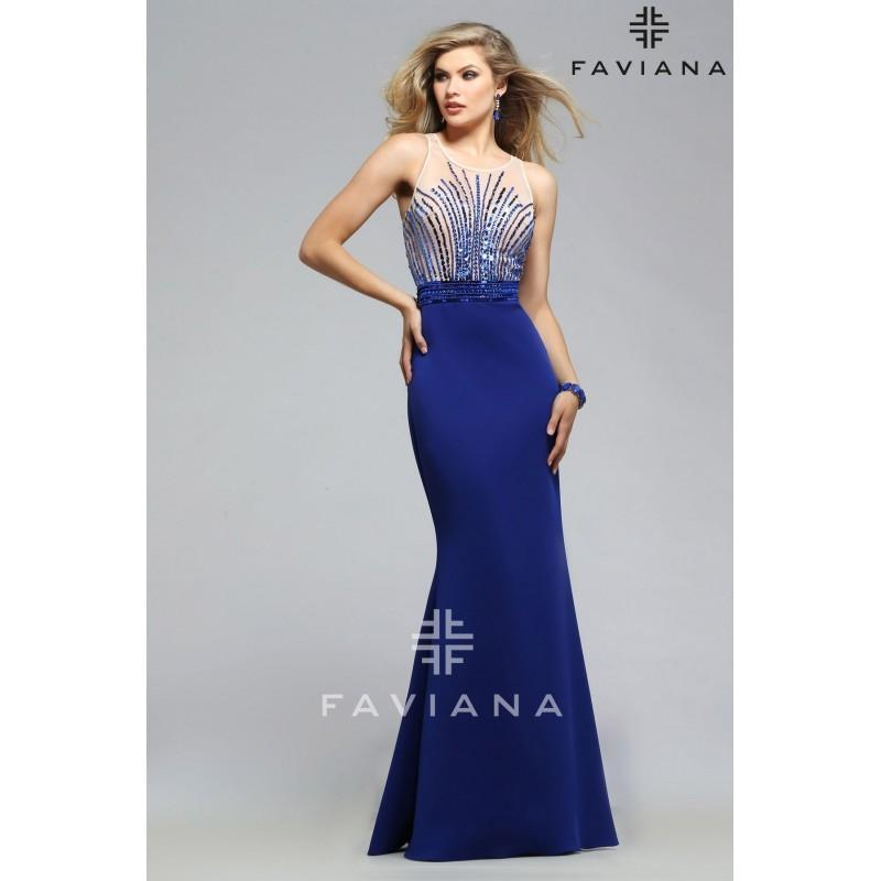Wedding - Faviana Style S7749 -  Designer Wedding Dresses