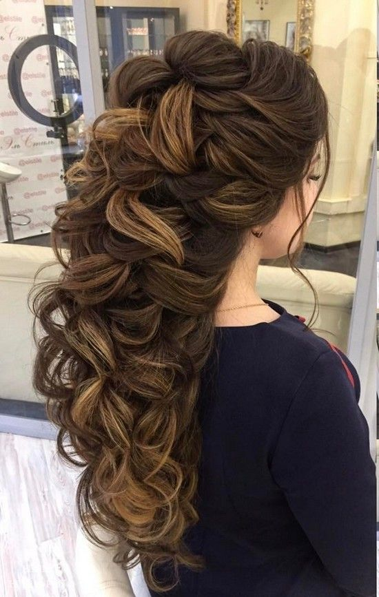 Wedding - 100 Wow-Worthy Long Wedding Hairstyles From Elstile