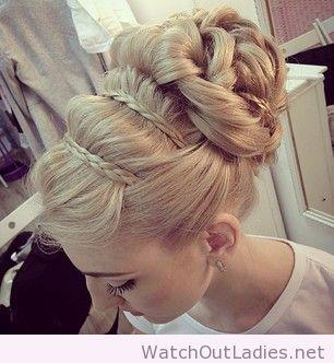 Wedding - Wonderful, Perfect And Amazing Updo Idea For Blonde Hair