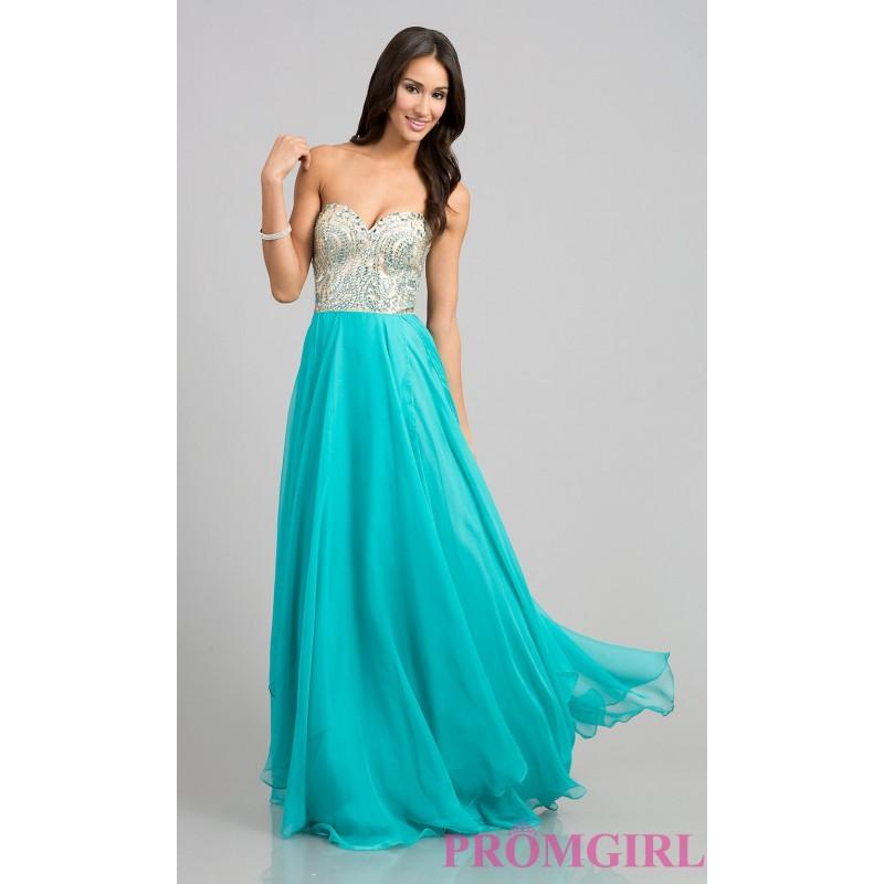 Свадьба - Strapless Beaded Gown by Nina Canacci 7015 - Brand Prom Dresses