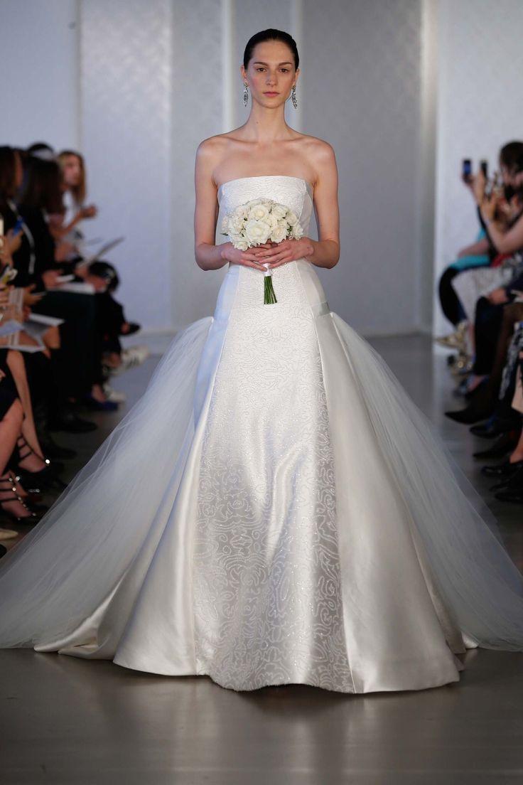 Wedding - Oscar De La Renta Bridal Spring 2017 Fashion Show