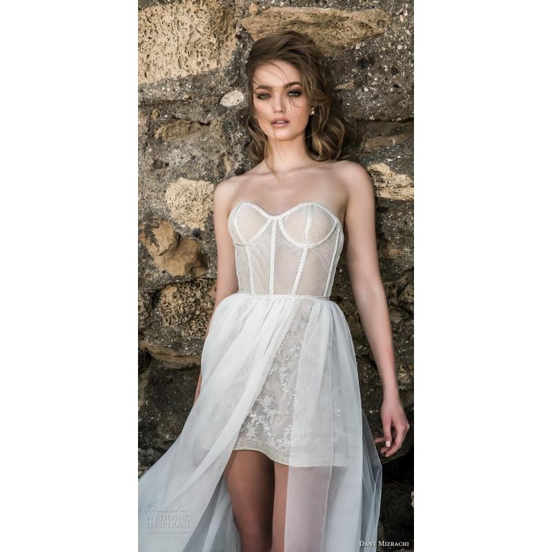 Wedding - Dany Mizrachi 2018 DM79/17- F/W Sweetheart Sweet Wedding Gown Sweetheart Sweet Wedding Gown - granddressy.com