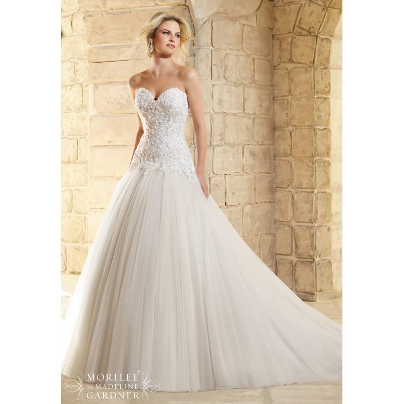 Wedding - Mori Lee By Madeline Gardner - Style 2771 - Junoesque Wedding Dresses