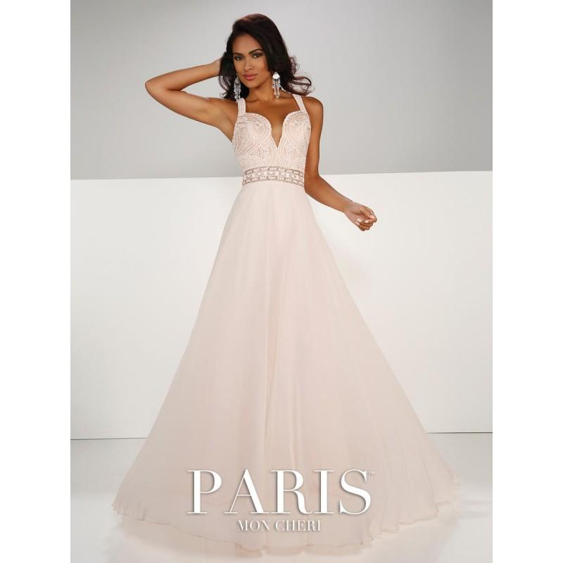 Hochzeit - Blush Paris by Mon Cheri 116752 Paris Prom by Mon Cheri - Top Design Dress Online Shop