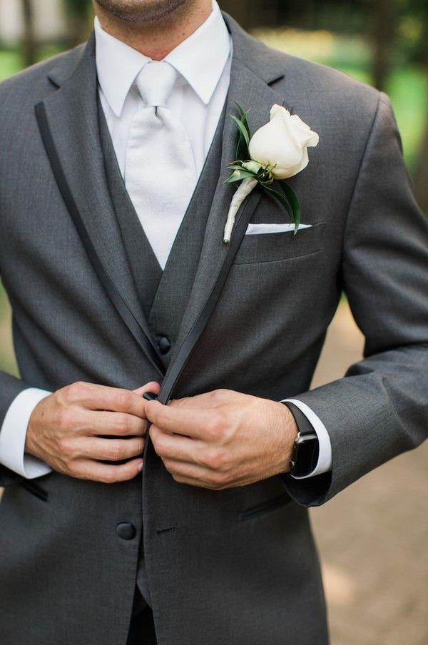 Hochzeit - 20 Popular Groom Suit Ideas For Your Big Day