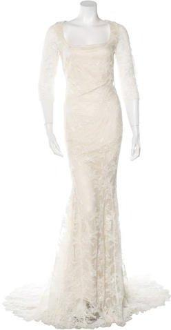 Boda - Badgley Mischka Lace Wedding Gown w/ Tags