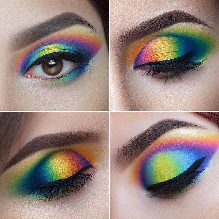 Rainbow Eye Makeup Ideas Mugeek Vidalondon