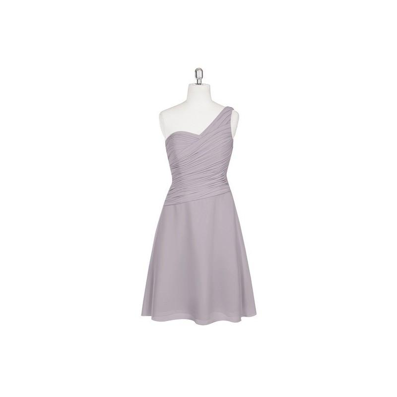 Свадьба - Dusk Azazie Brynn - One Shoulder Knee Length Back Zip Chiffon Dress - Cheap Gorgeous Bridesmaids Store