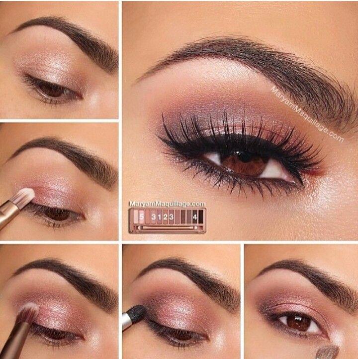Свадьба - Glowing Pink Eyeshadow