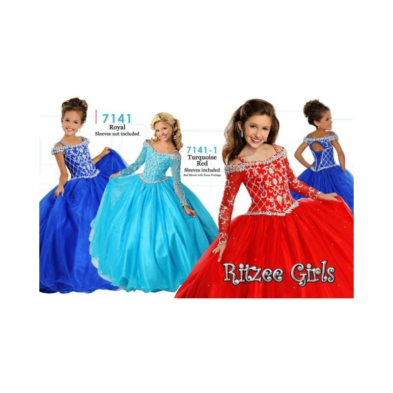 Ritzee Girls Pageant Dresses