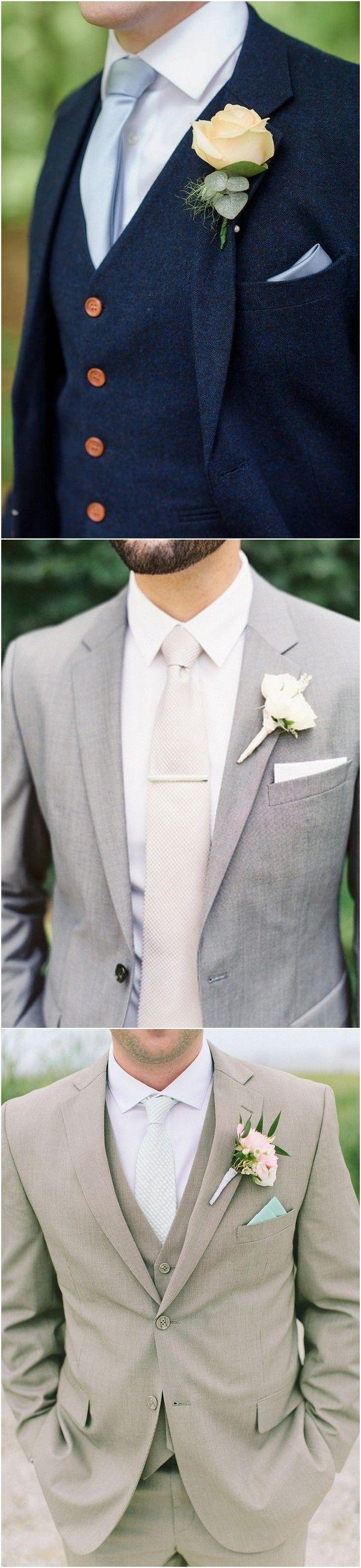 Свадьба - 20 Popular Groom Suit Ideas For Your Big Day - Page 4 Of 4