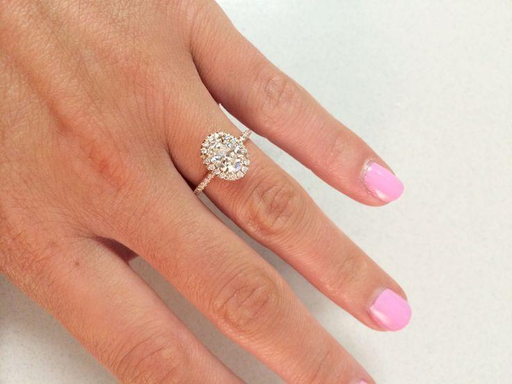 6f213ad79835d Show Me Your Oval Halo Engagement Rings!! :) - Weddingbee #2736344 ...