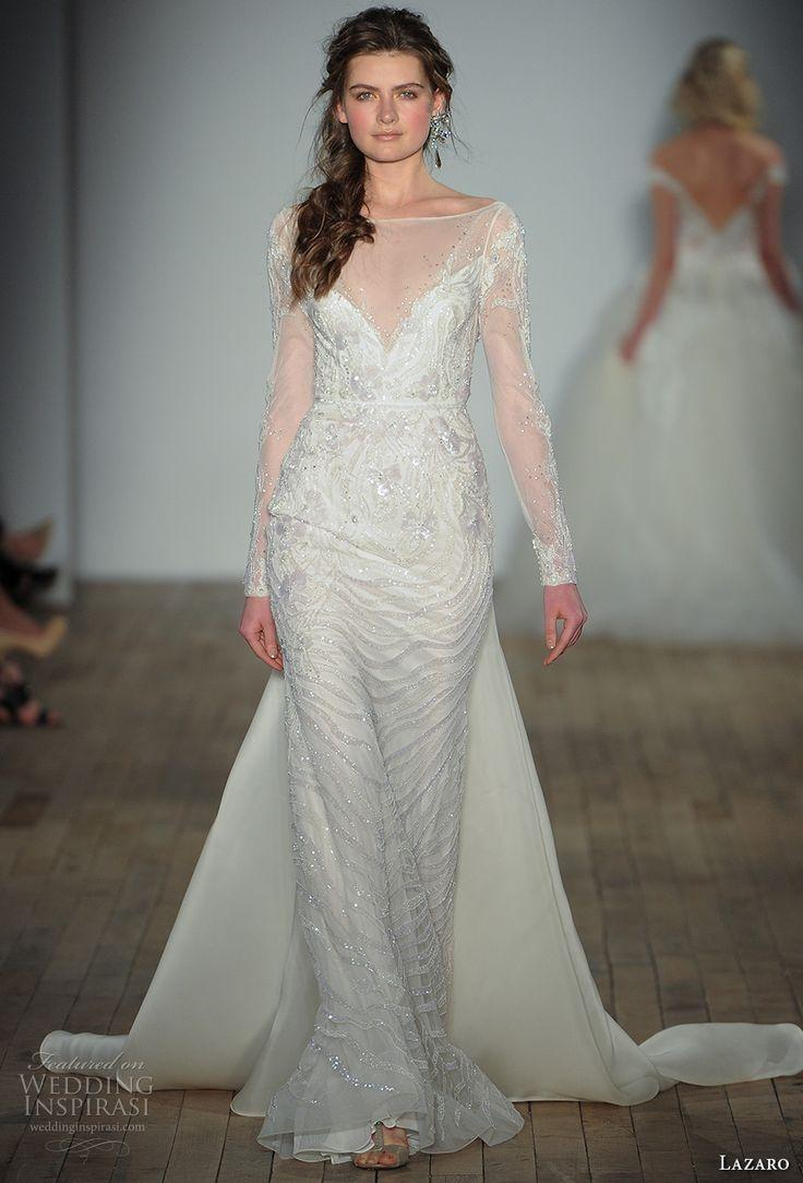 زفاف - Lazaro Fall 2017 Wedding Dresses — New York Bridal Fashion Week Runway Show