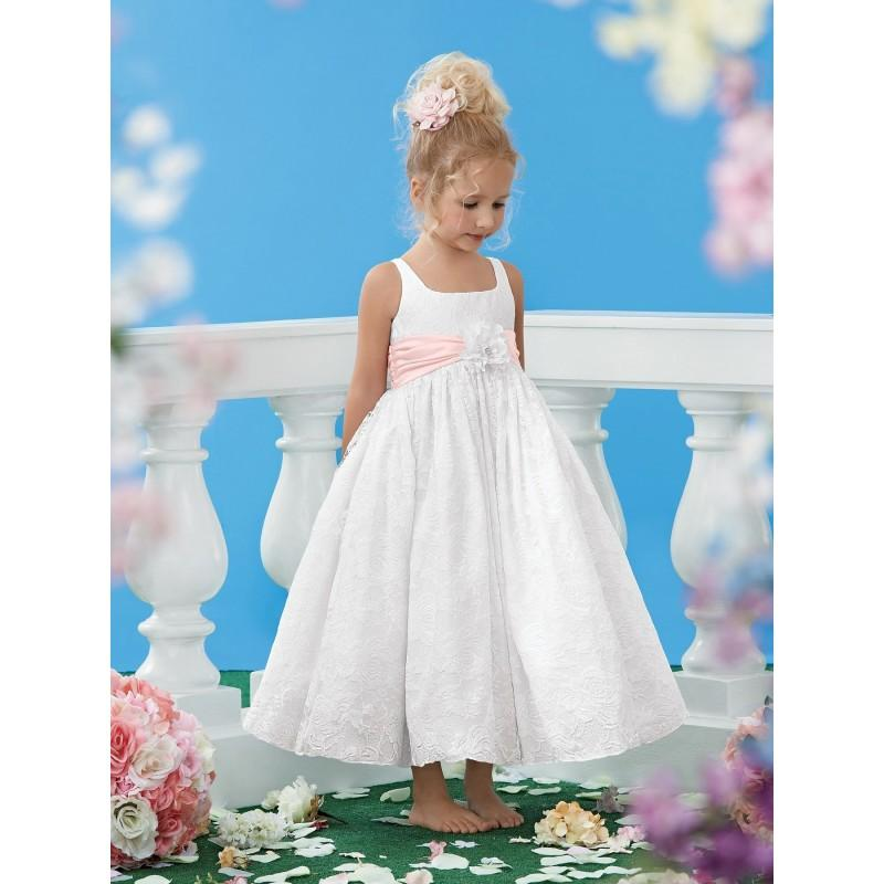زفاف - Jordan Sweet Beginnings Flower Girl Dresses - Style L447 - Formal Day Dresses