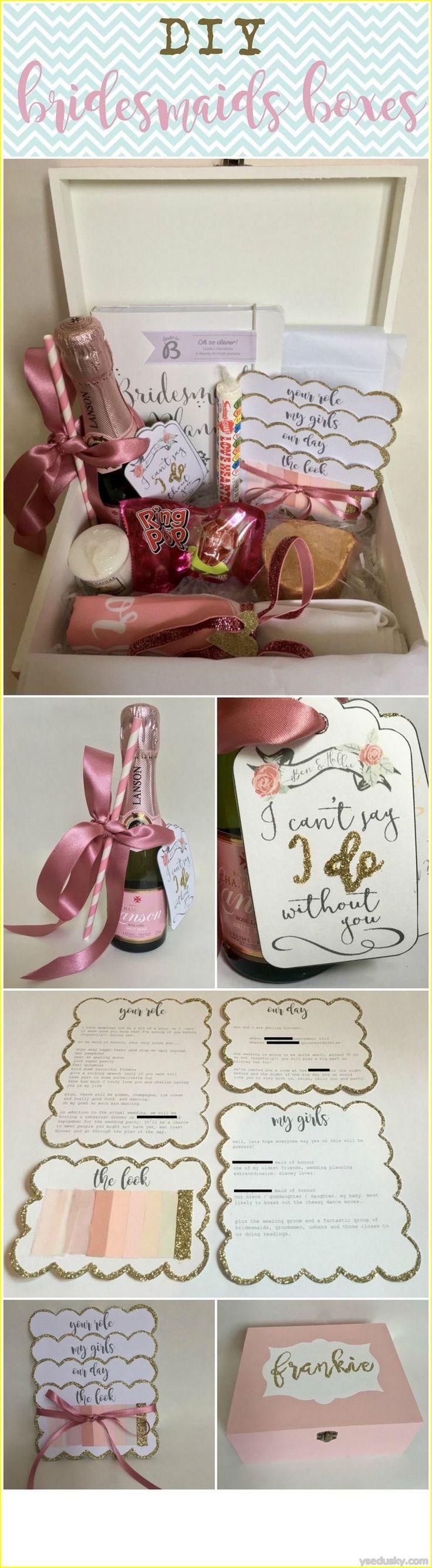 Bridesmaid Diy Bridesmaid Gift Box 2737342 Weddbook