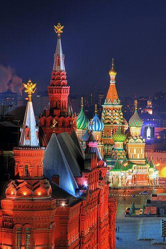 زفاف - Honeymoon Destinations - Moscow