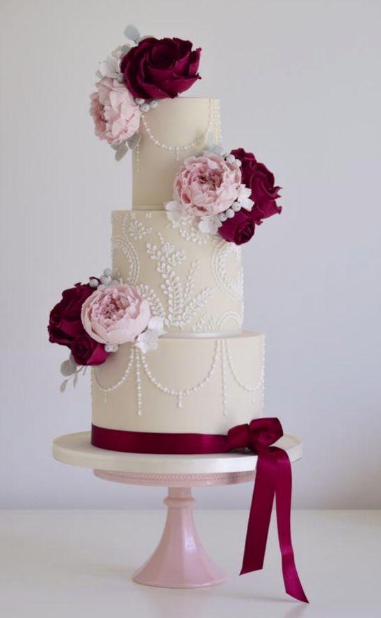 Свадьба - Off White Wedding Cake