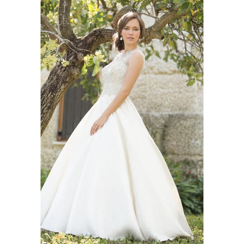 Свадьба - White/Silver Madison James Bridal  MJ02 - Brand Wedding Store Online
