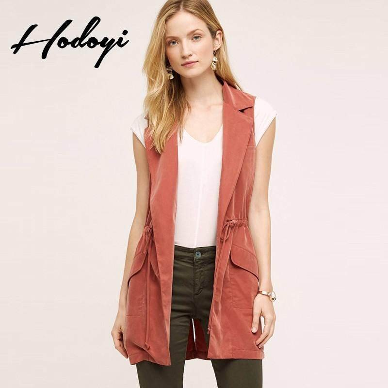 Wedding - Slim casual boyfriend style in Harajuku in autumn and winter coat long sleeved thin personality and handsome solid color vest wo - Bonny YZOZO Boutique Store