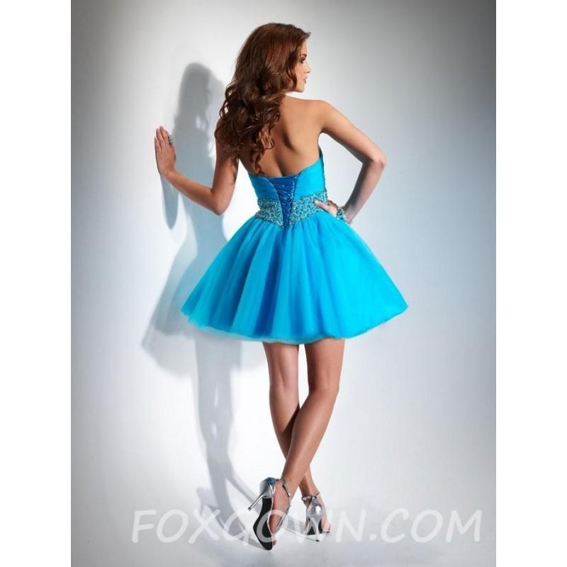 Mariage - Liebsten Tüll Prom Kleid mit Jeweled Bund - Festliche Kleider