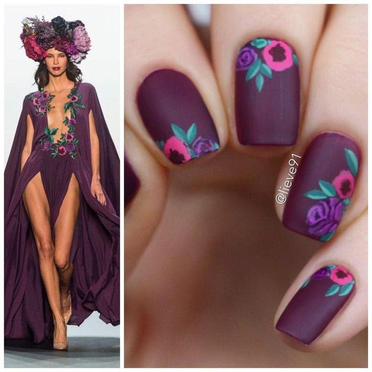 زفاف - Sweet Cotton Candy Nail Colors And Designs