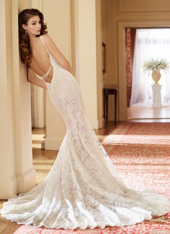 Hochzeit - Wedding Dress Inspiration - David Tutera For Mon Cheri Bridal