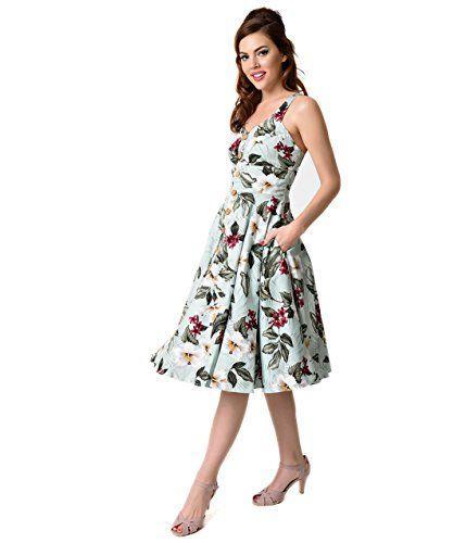 Wedding - Floral Swing Dress