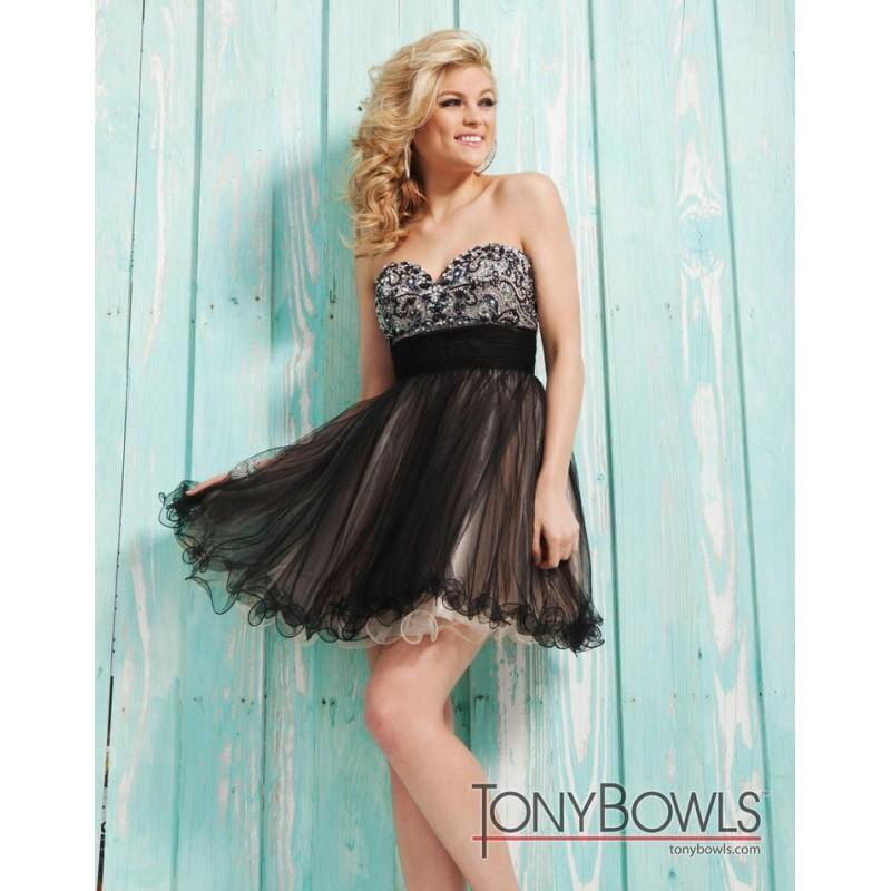 Свадьба - TS21303 Tony Bowls Short - HyperDress.com