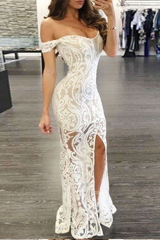 Wedding - Sexy Charming Prom Dress,Lace Sheat